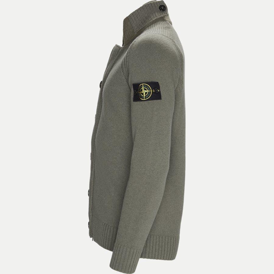 564A3 - Knit Cardigan - Strik - Regular - OLIVEN - 4