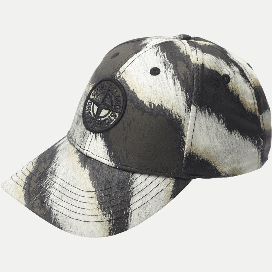 d48807f9754 991E1 - White Tiger Camo Cap - Caps - SAND - 1. Stone Island