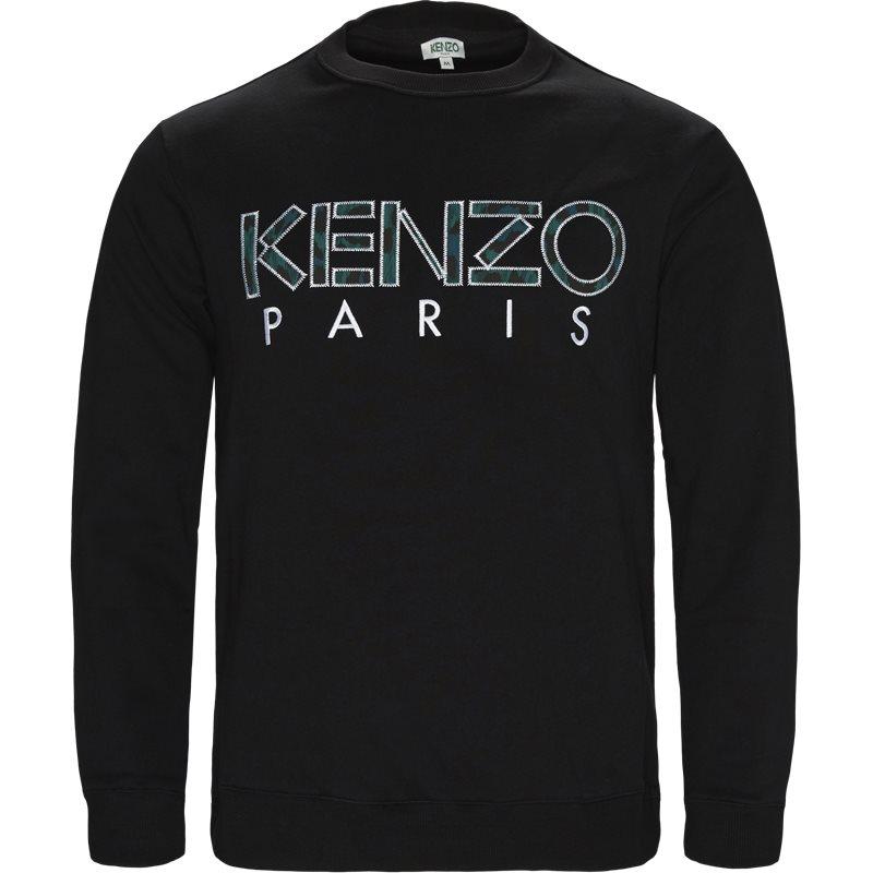 kenzo – Kenzo sweat black på axel.dk