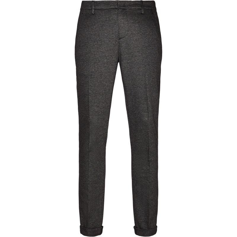 dondup Dondup bukser grey/black fra axel.dk