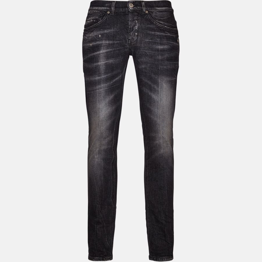 UP232 DS215 T16N - Jeans - Jeans - Skinny fit - BLACK - 1