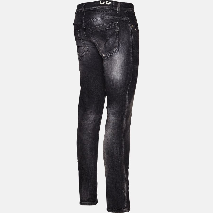 UP232 DS215 T16N - Jeans - Jeans - Skinny fit - BLACK - 3