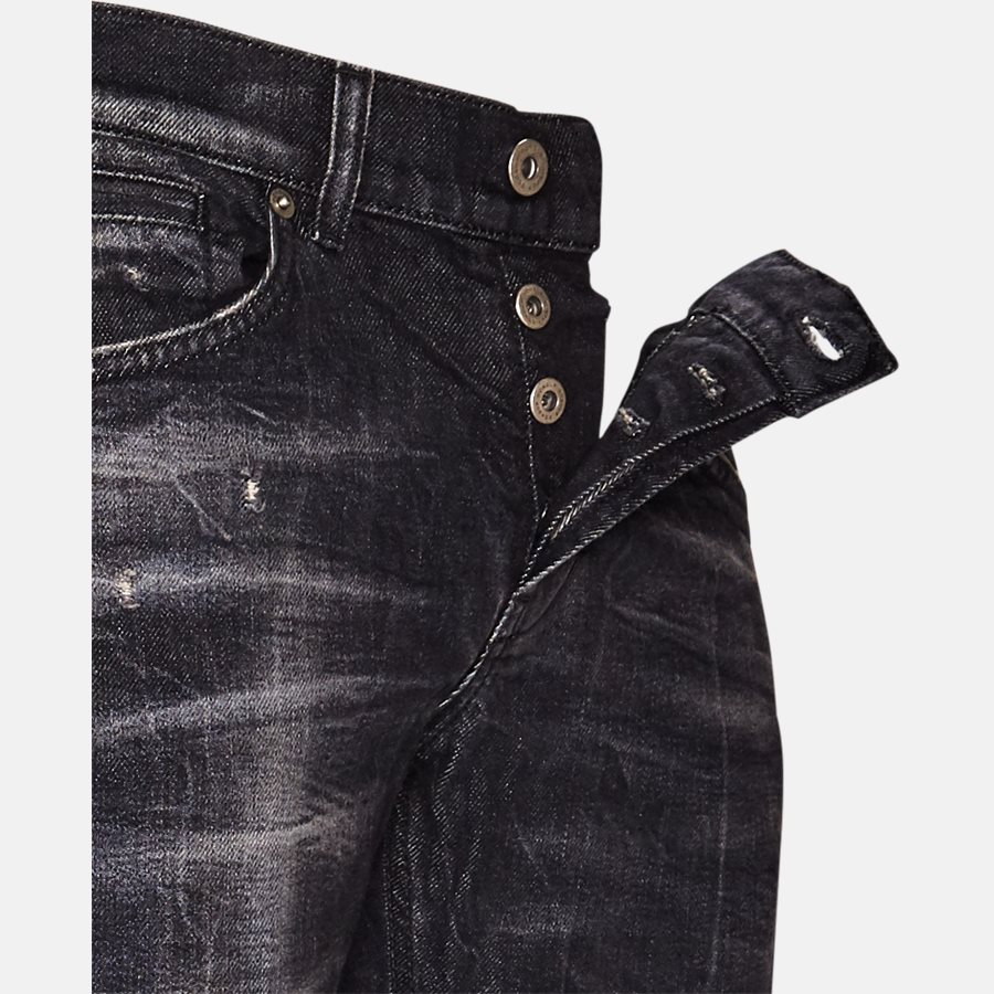 UP232 DS215 T16N - Jeans - Jeans - Skinny fit - BLACK - 4