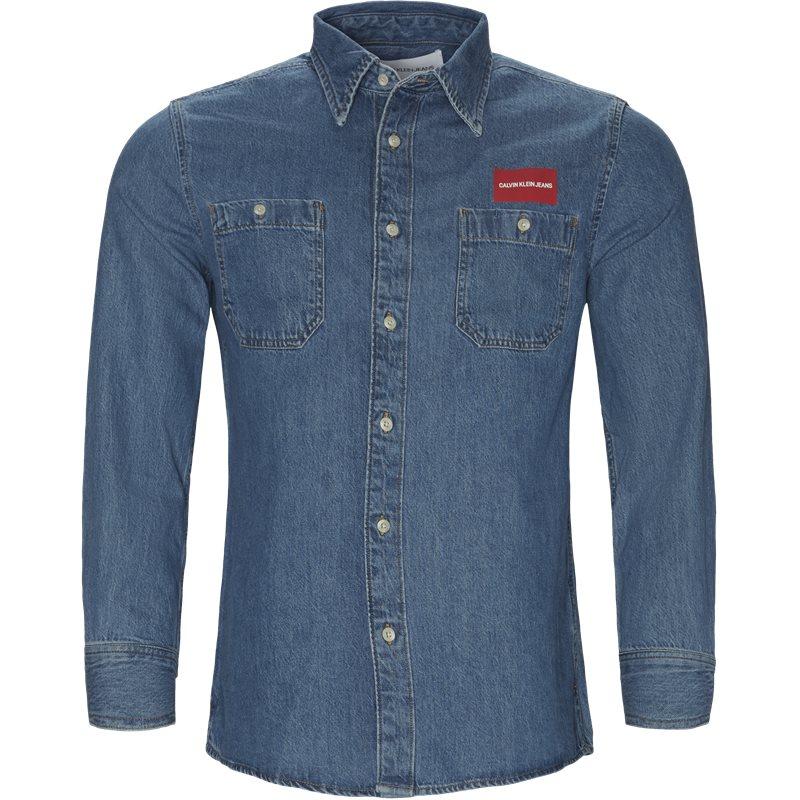 calvin klein jeans Calvin klein jeans skjorte denim fra axel.dk