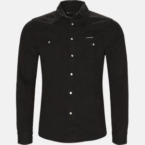 skjorte Regular fit | skjorte | Sort
