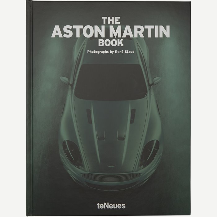 The Aston Martin Book - Accessories - Hvid