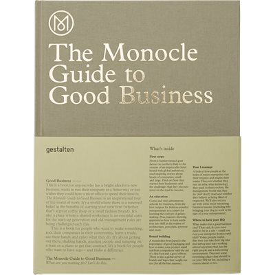 The Monocle Guide To Good Business The Monocle Guide To Good Business | Hvid