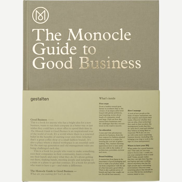 The Monocle Guide To Good Business - Accessories - Hvid
