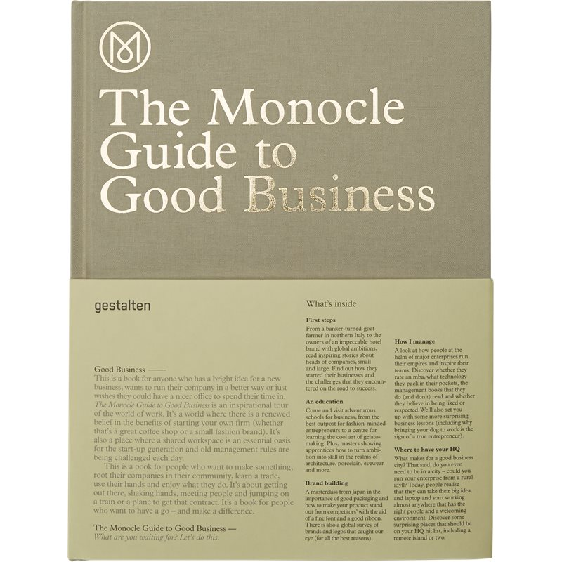 new mags – New mags - the monocle guide to good business fra kaufmann.dk