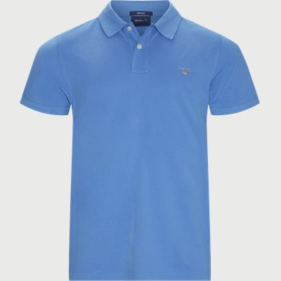 The original Pique SS Rugger Polo T-shirt Regular | The original Pique SS Rugger Polo T-shirt | Blå