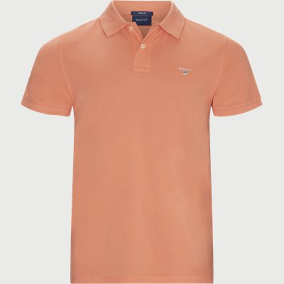 The original Pique SS Rugger Polo T-shirt Regular | The original Pique SS Rugger Polo T-shirt | Rød