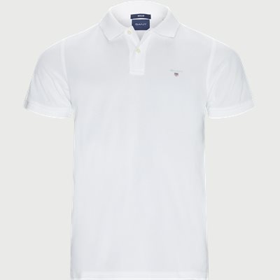 The original Pique SS Rugger Polo T-shirt Regular | The original Pique SS Rugger Polo T-shirt | Hvid