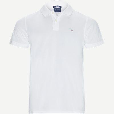 The original Pique SS Rugger Polo T-shirt Regular | The original Pique SS Rugger Polo T-shirt | Hvid