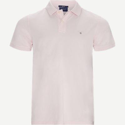 The original Pique SS Rugger Polo T-shirt Regular | The original Pique SS Rugger Polo T-shirt | Pink