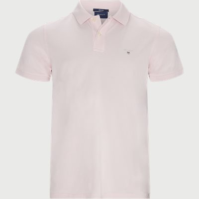 The original Pique SS Rugger Polo T-shirt Regular | The original Pique SS Rugger Polo T-shirt | Pink