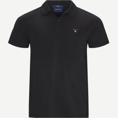 The original Pique SS Rugger Polo T-shirt Regular | The original Pique SS Rugger Polo T-shirt | Sort