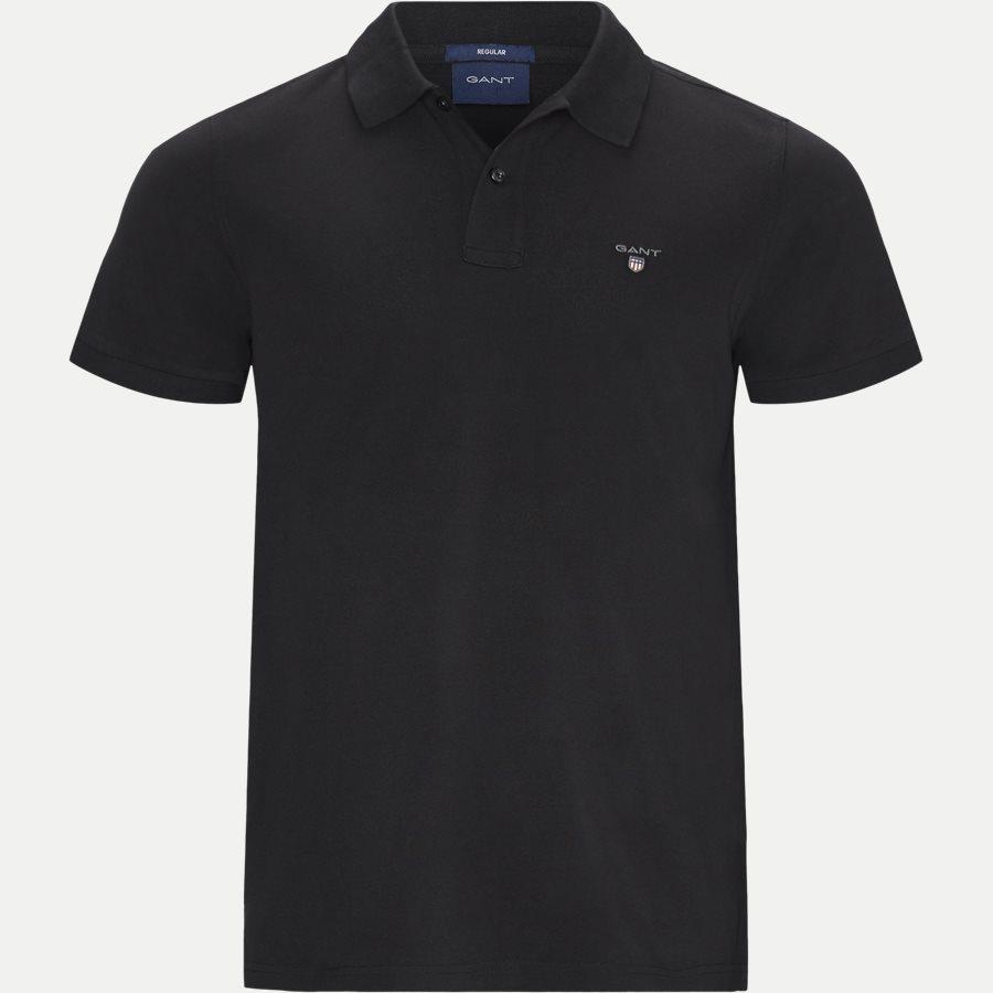 2201 S19 - The original Pique SS Rugger Polo T-shirt - T-shirts - Regular - SORT - 1