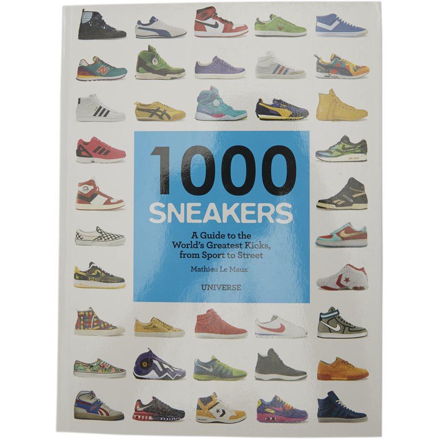 1000 SNEAKERS RI1009 - 1000 Sneakers bog - Accessories - HVID - 1