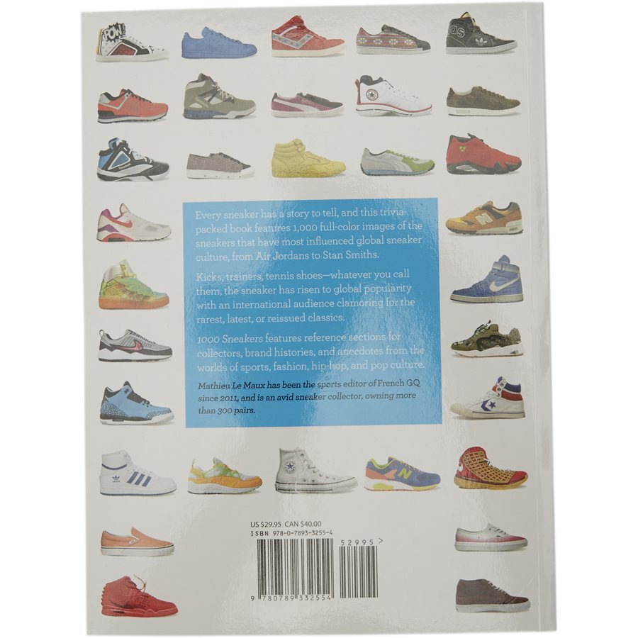 1000 SNEAKERS RI1009 - 1000 Sneakers bog - Accessories - HVID - 2