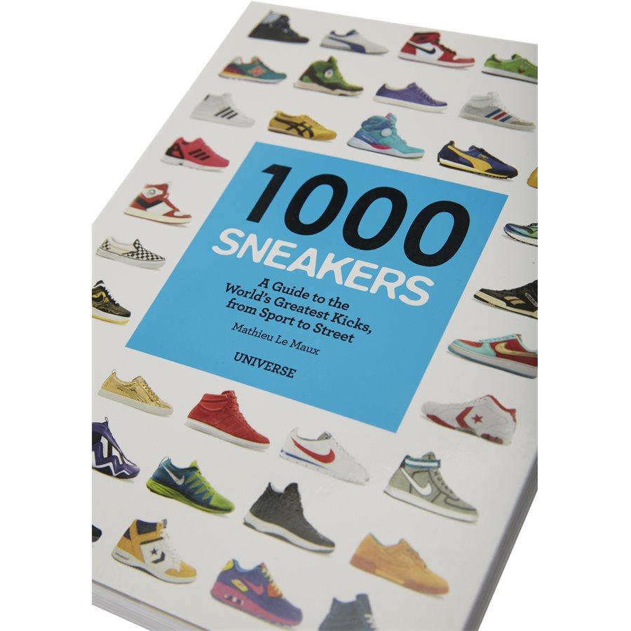 1000 SNEAKERS RI1009 - 1000 Sneakers bog - Accessories - HVID - 3