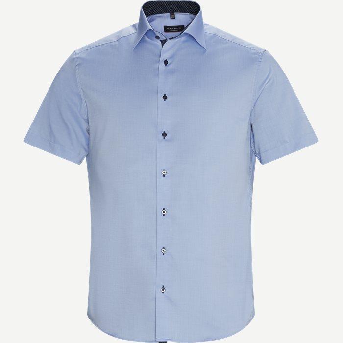 8100 Kortærmet Skjorte - Kortærmede skjorter - Modern fit - Blå