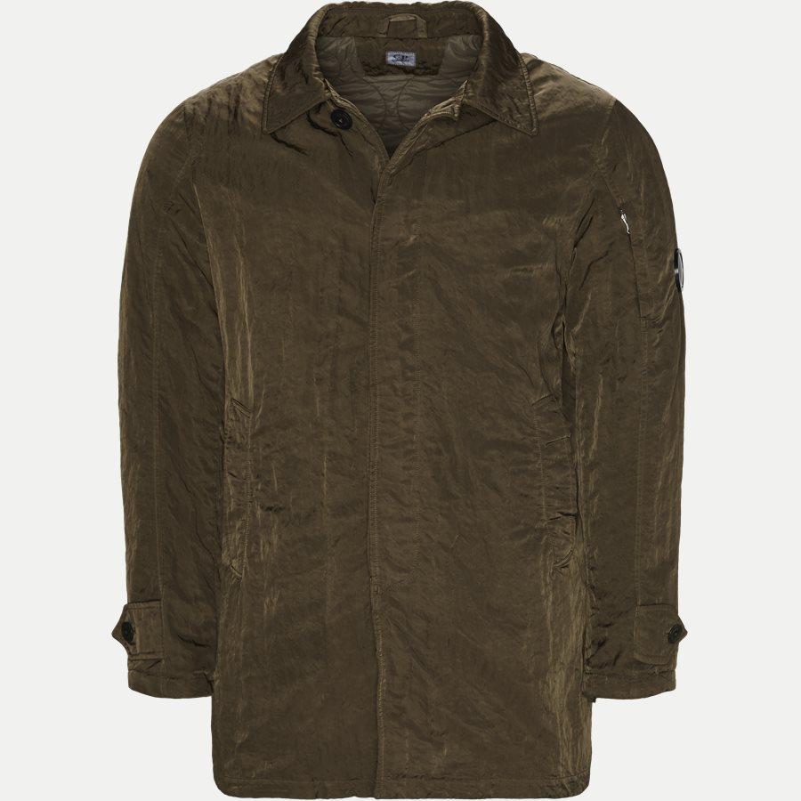 05CM0W 212A 00 5269G - Dyed Nylon Sateen Jacket - Jakker - Regular - OLIVEN - 1