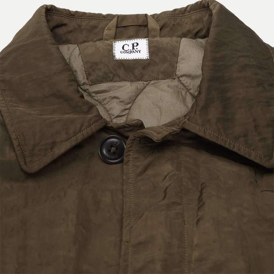 05CM0W 212A 00 5269G - Dyed Nylon Sateen Jacket - Jakker - Regular - OLIVEN - 3