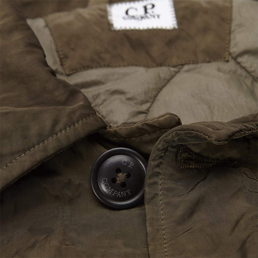 05CM0W 212A 00 5269G - Dyed Nylon Sateen Jacket - Jakker - Regular - OLIVEN - 4