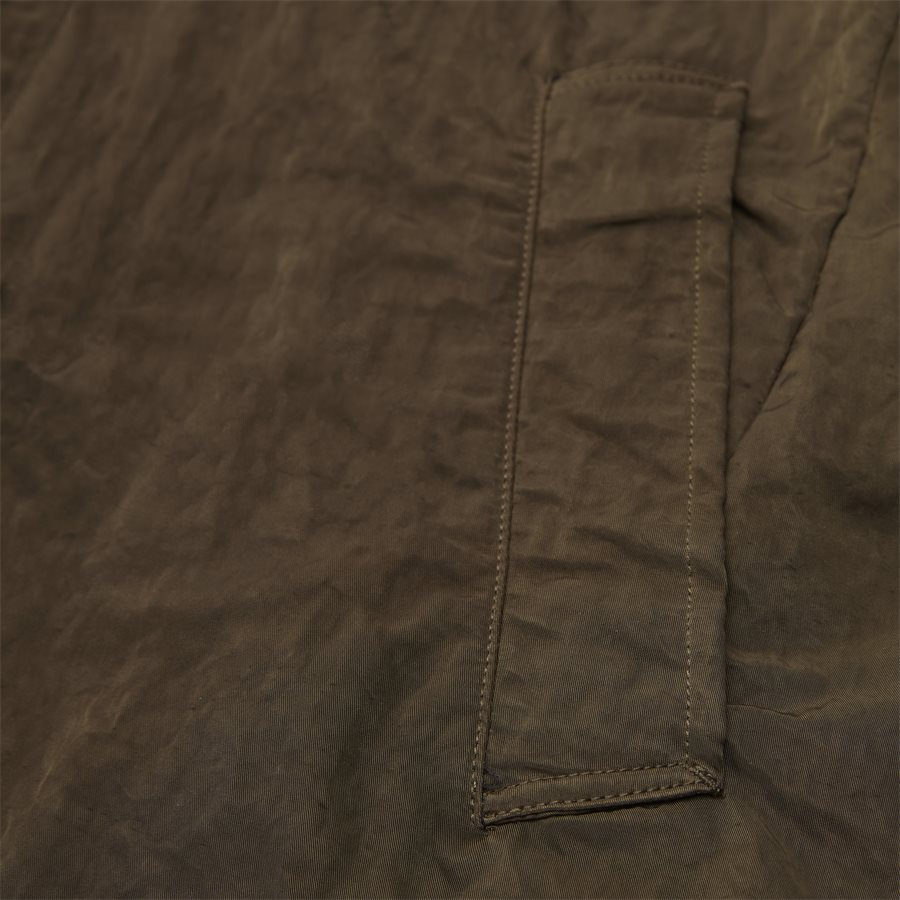 05CM0W 212A 00 5269G - Dyed Nylon Sateen Jacket - Jakker - Regular - OLIVEN - 5