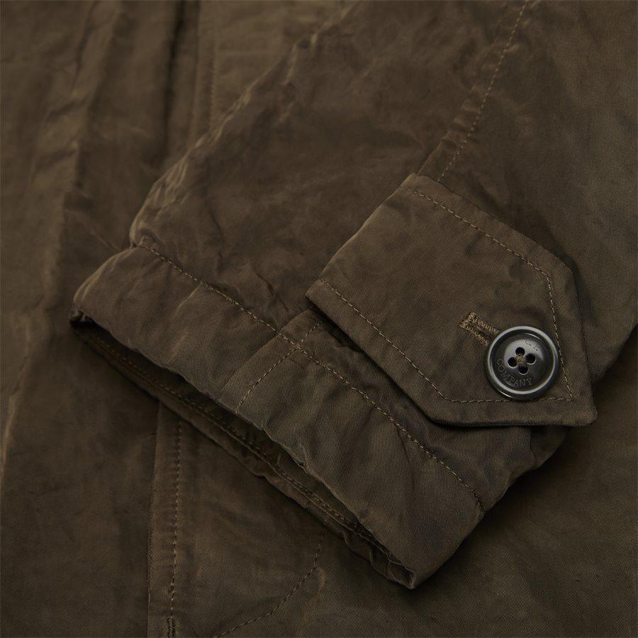 05CM0W 212A 00 5269G - Dyed Nylon Sateen Jacket - Jakker - Regular - OLIVEN - 8