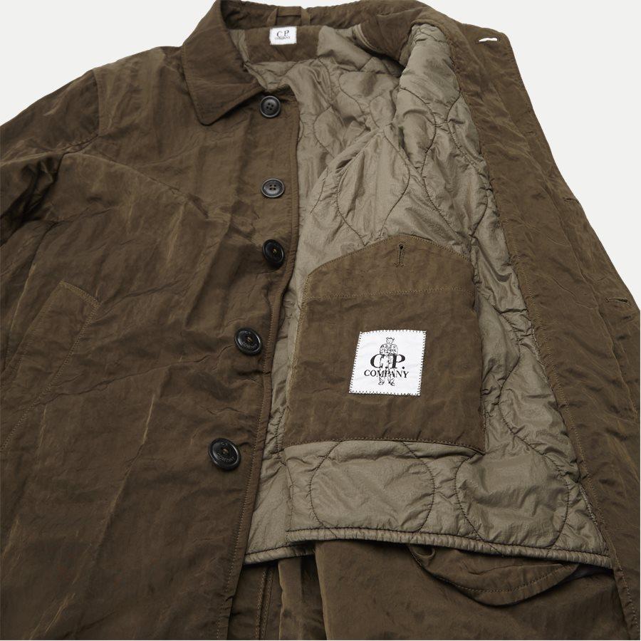05CM0W 212A 00 5269G - Dyed Nylon Sateen Jacket - Jakker - Regular - OLIVEN - 9