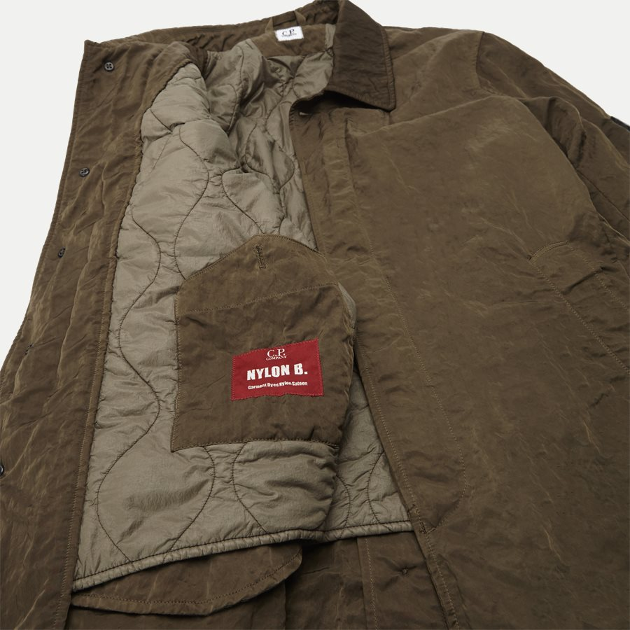 05CM0W 212A 00 5269G - Dyed Nylon Sateen Jacket - Jakker - Regular - OLIVEN - 10