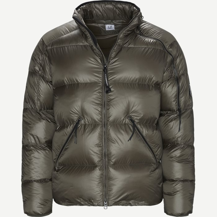 D.D.Shell Goggle Down Jacket - Jakker - Regular - Army