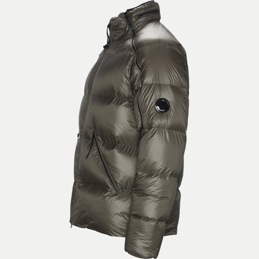 M0W093A 005073A - D.D.Shell Goggle Down Jacket - Jakker - Regular - OLIVEN - 3