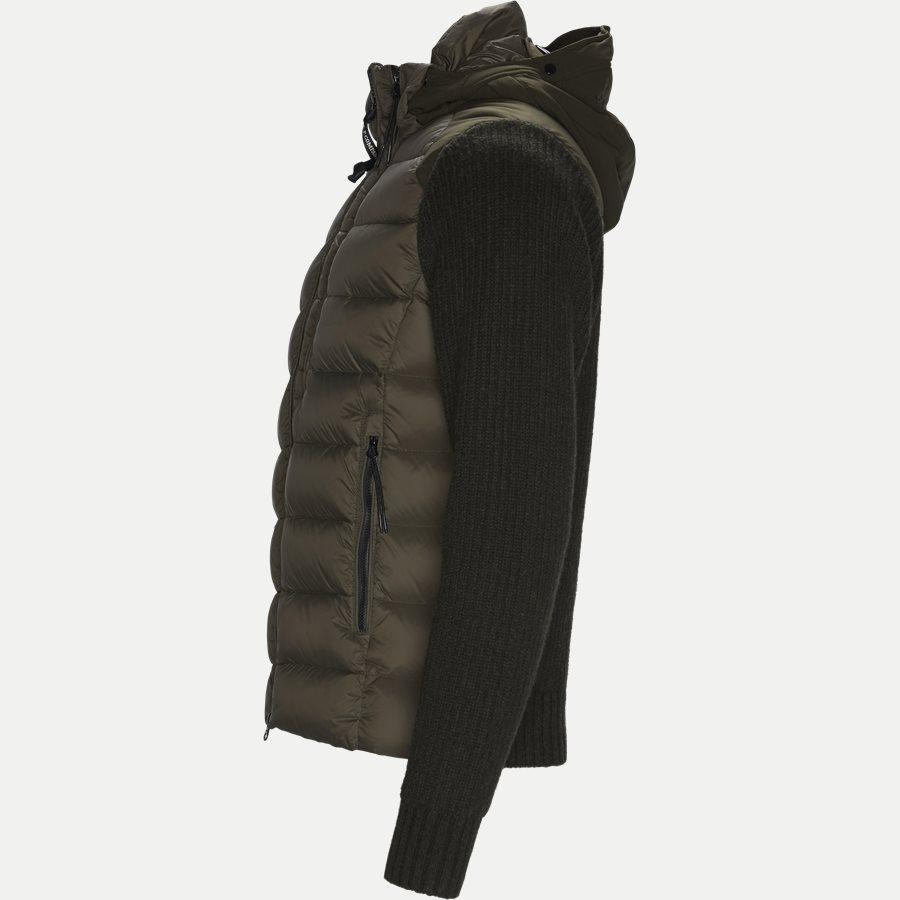 MKN024A 004306M - Goggle Quiltet Knit Jacket - Jakker - Regular - ARMY - 3