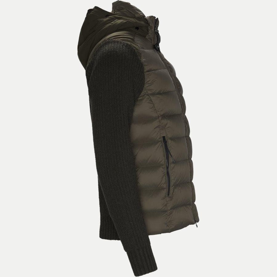 MKN024A 004306M - Goggle Quiltet Knit Jacket - Jakker - Regular - ARMY - 4