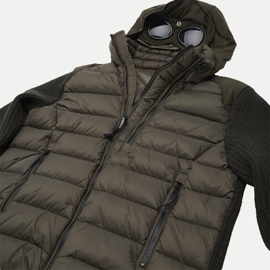 MKN024A 004306M - Goggle Quiltet Knit Jacket - Jakker - Regular - ARMY - 7