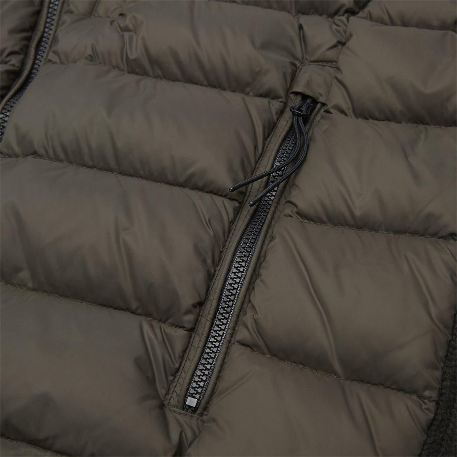 MKN024A 004306M - Goggle Quiltet Knit Jacket - Jakker - Regular - ARMY - 8