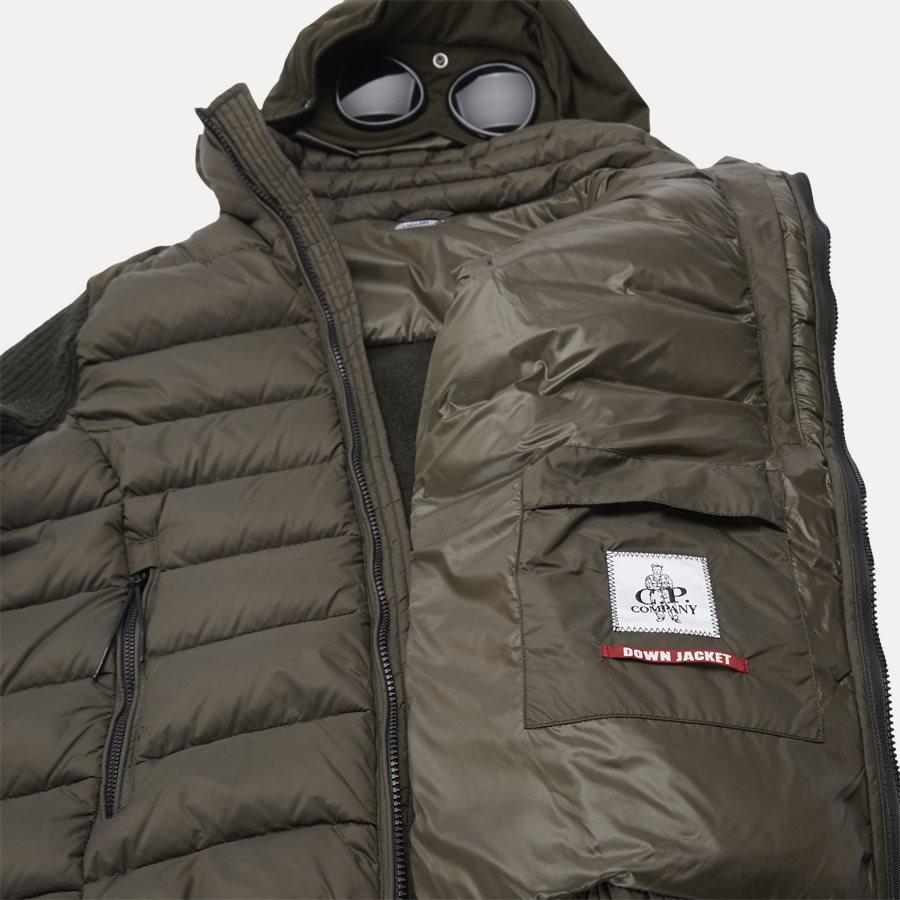 MKN024A 004306M - Goggle Quiltet Knit Jacket - Jakker - Regular - ARMY - 9