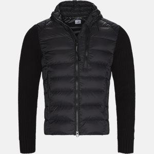 Goggle Quiltet Knit Jacket Regular | Goggle Quiltet Knit Jacket | Sort
