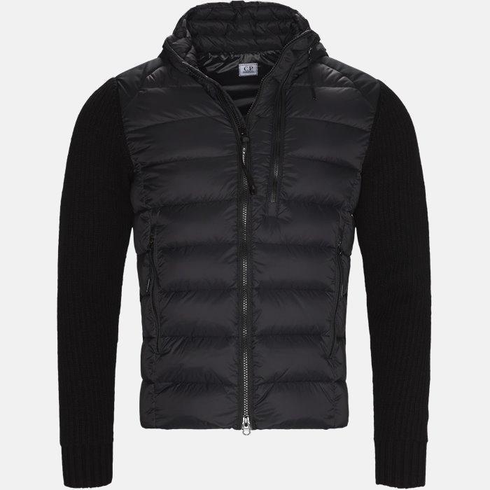 Goggle Quiltet Knit Jacket - Strik - Regular - Sort