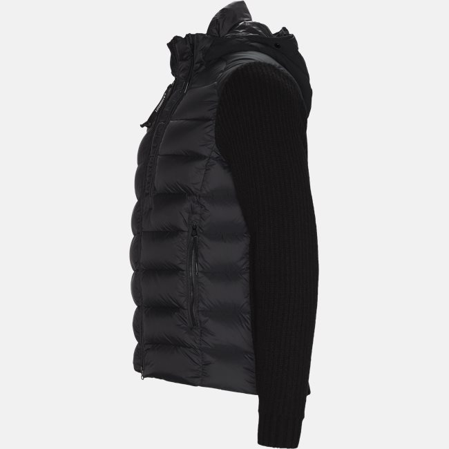 Goggle Quiltet Knit Jacket