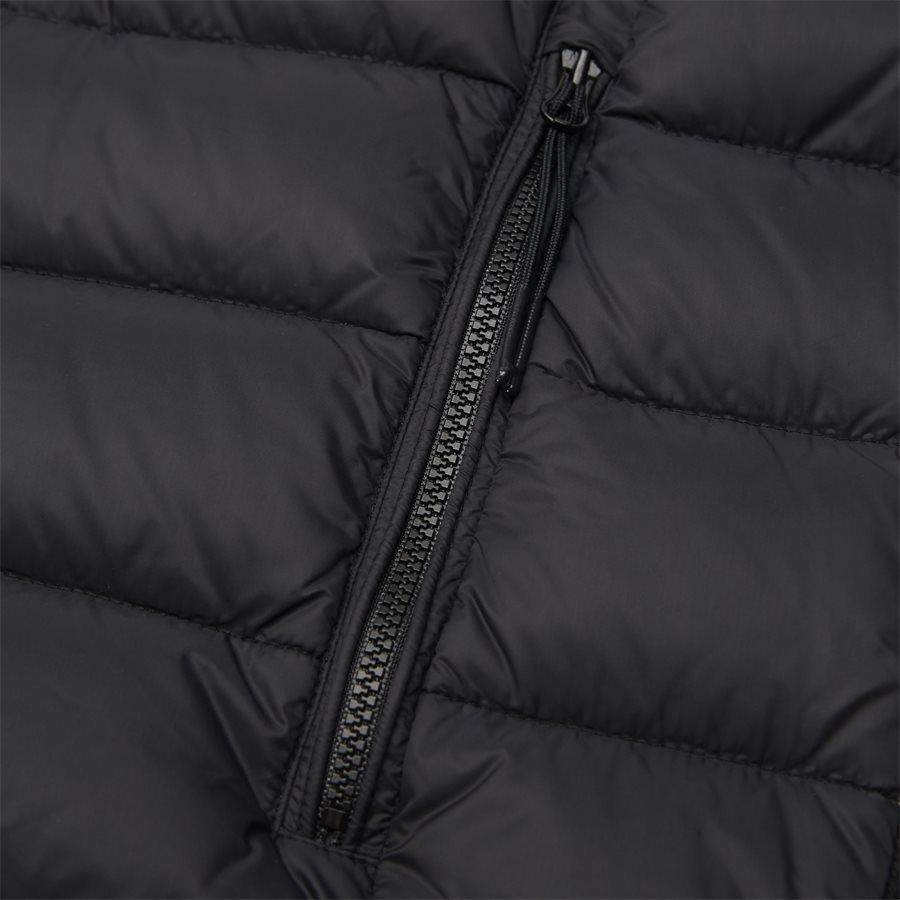MKN024A 004306M - Goggle Quiltet Knit Jacket - Jakker - Regular - SORT - 7