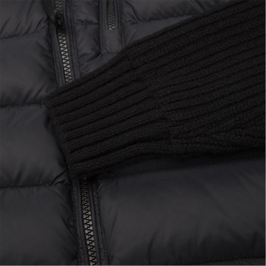 MKN024A 004306M - Goggle Quiltet Knit Jacket - Jakker - Regular - SORT - 9