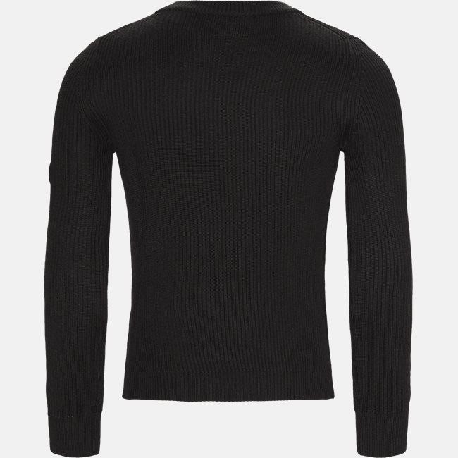 Merino Fisherman Crew Neck Sweater