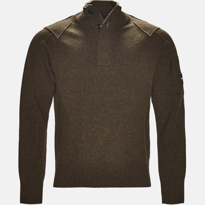 Turtle Neck Knitwear - Strik - Regular - Army