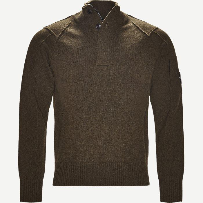 Turtle Neck Knitwear - Strik - Regular - Army