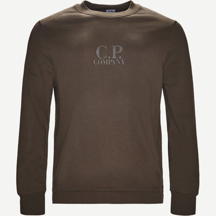 Crew Neck Sweatshirt - Sweatshirts - Regular - Army