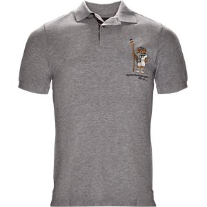 Boathouse Bear Polo Regular slim fit | Boathouse Bear Polo | Grå