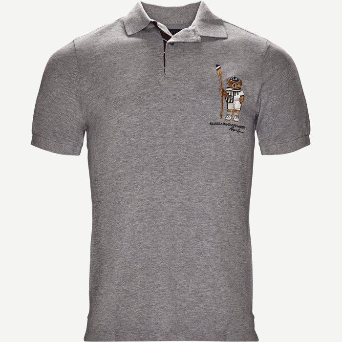 Boathouse Bear Polo - T-shirts - Regular slim fit - Grå